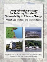 (August 2008). Comprehensive Strategy for Reducing Maryland's Vulnerability to Climate Change, Phase I: Sea level rise and coastal storms
