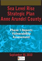 (September 2010). Sea Level Rise Strategic Plan Anne Arundel County. Phase 1 Report: Vulnerability Assessment.